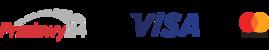 logotypy operatorów kart płatniczych